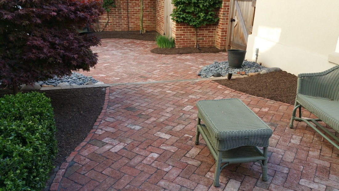 Herringbone Patio